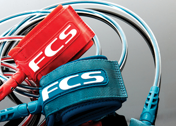 The FCS range of interchangeable leashes offers the highest levels of quality, design and construction. Delivering unparalleled comfort, strength and versatility.